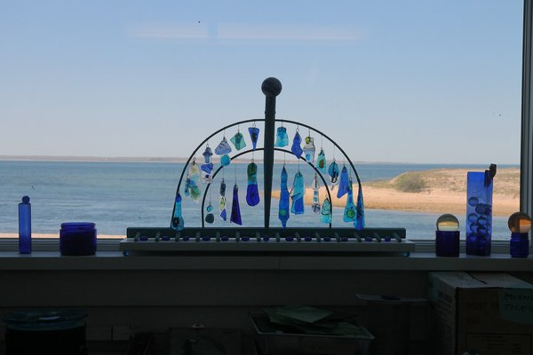A view of Napeague Harbor from the D'Amico home. KYRIL BROMLEY