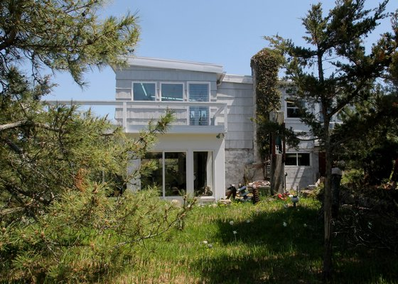 The D'Amico house at Lazy Point. KYRIL BROMLEY