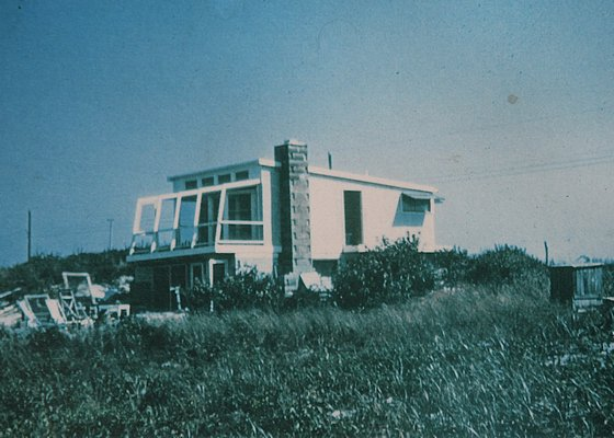 Mabel and Victor D'Amico started building their house in the 1940s. He died in 1987 and she died in 1998. KYRIL BROMLEY