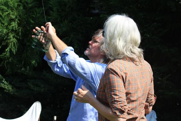 Andy Harris and Sally Richardson.  KELLY ANN SMITH