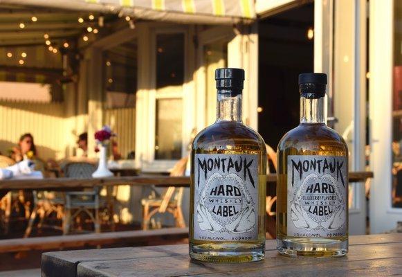 Montauk Hard Label Whiskey COURTESY MONTAUK HARD LABEL