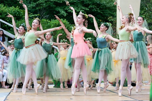 Hampton Ballet Theatre School will present 'Peter and the Wolf' at locations across the South Fork.