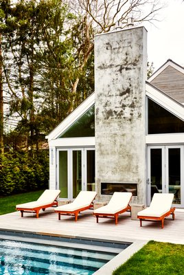 The ASH NYC show house on Montauk Highway in East Hampton. CHRISTIAN HARDER
