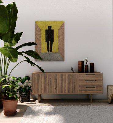 Mid-century modern dresser. CARLOS DIAZ