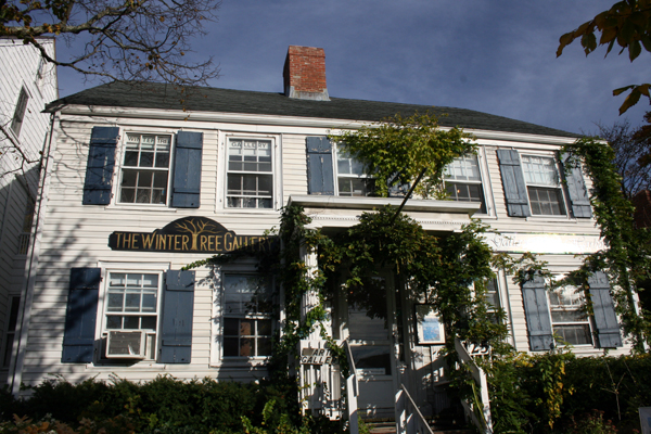 Ernest Schade experienced 20 years of paranormal phenomena at his building on 125 Main Street in Sag Harbor.