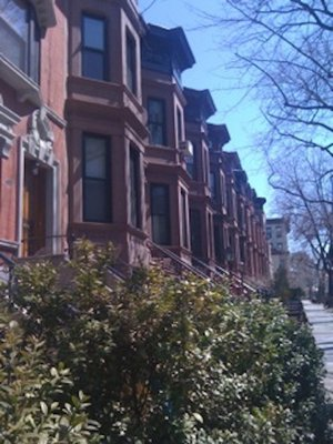 A Brooklyn brownstone. SANDY BIANO SANDY BIANO