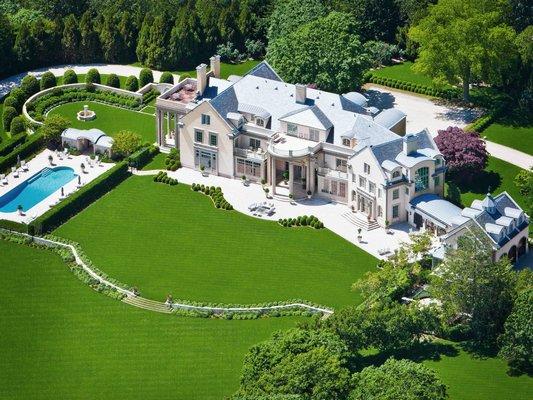 Villa Maria in Water Mill. BRUNO SHRECK/SOTHEBY'S INTERNATIONAL REALTY