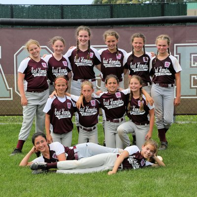 The East Hampton 11-and-under softball All-Stars won the Section IV title last week and is playing for a state title this week.
