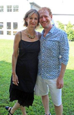 Toni Ross and Ron Kaplan