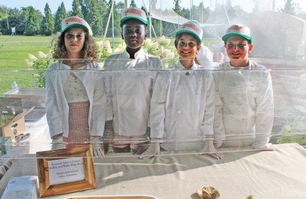 Reve Weiner, Towesa Kumwenda, Eve Achuthan Kozar and Sam Weinstein