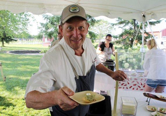 Chef Colin Ambrose