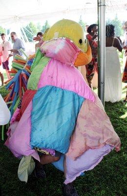The Boom Shakalaka costume parade