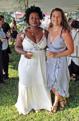 Mbachi Kumwenda and Daniella Charlton