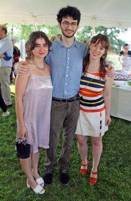 Sara Salaway, Noah Salaway and Xenna Goh