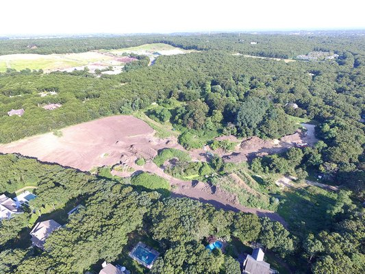 The Southampton Town Zoning Board Appeals will start the review process on Thursday for an application for a 120-unit condo development at the site of the town's former dump in North Sea.