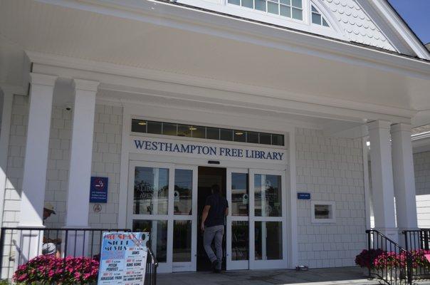 The Westhampton Free Library. ANISAH ABDULLAH