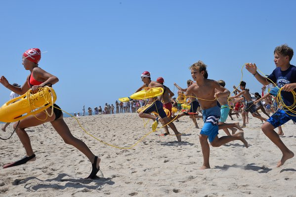 East Hampton Town held its Junior Lifeguard Tournament on Saturday and Sunday at Indian Wells Beach in Amagansett.