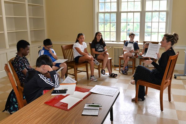 A children's summer camp that welcomes international students from all over the world has been directly impacted by U.S. immigration policy. KYRIL BROMLEY