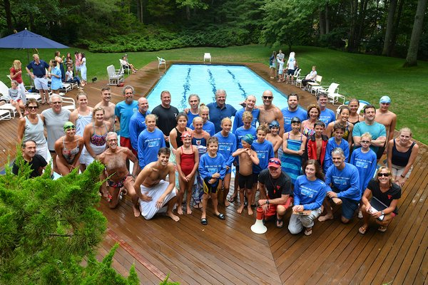 Participants of this year's Swim For The Cure ranged from 7 to 79 years old.