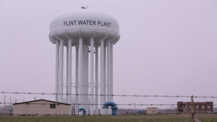 "A still frame from Anthony Baxter's documentary ""Flint,"" about the water crisis in Flint, Michigan."