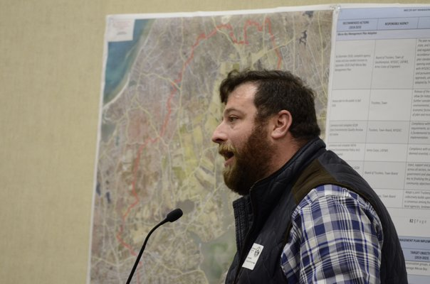 Democratic Party candidate David Mayer announced on Thursday morning that he was dropping out of the Southampton Town Trustee race. GREG WEHNER