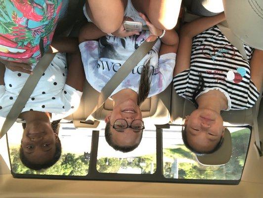 Jenny, Brianna, and Madison.