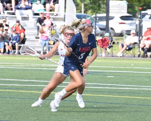 Isabelle Smith was the top midfielder for the U.S. U19 women's lacrosse team.