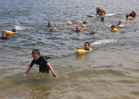 East Hampton Town held its Nipper Guard Lifeguard Tournament at Albert's Landing and Atlantic beaches on August 1 and 2.