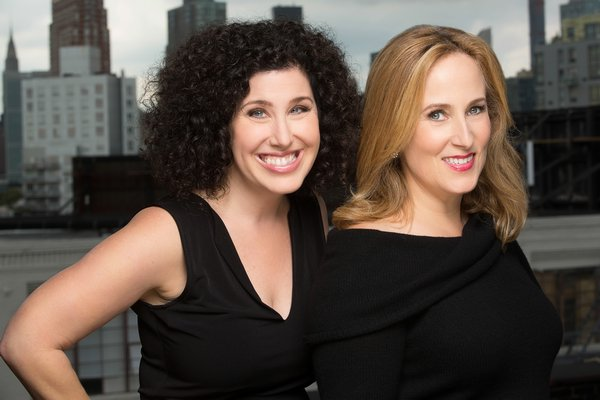 Songwriting duo Marcy Heisler and Zina Goldrich.