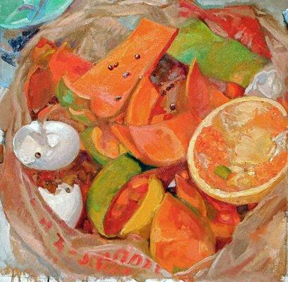 Bruce Lieberman's painting