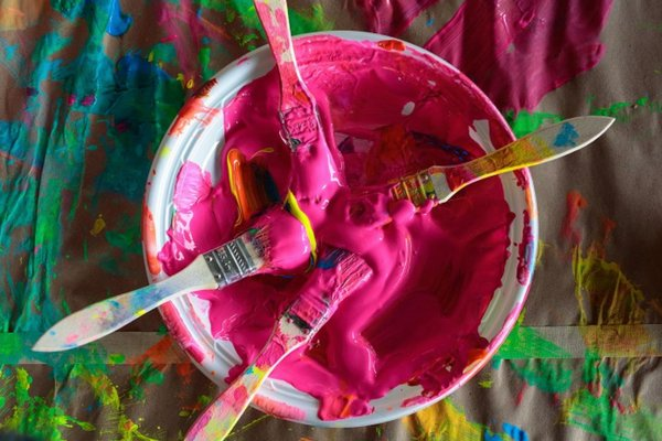 The paint will be flowing at the Parrish Art Museum Family Party.