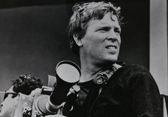DA Pennebaker while filming