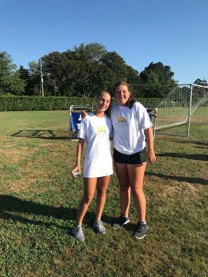 Gigi Goodwin, left, and Annie Tolan