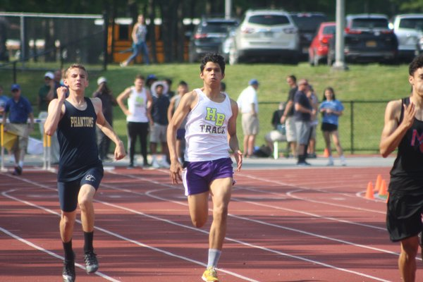 Thomas O'Connell was one of three Baymen who reached the state track meet this past spring.