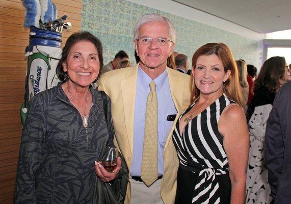 Elena Loreto with Fred and NancyLynn Thiele