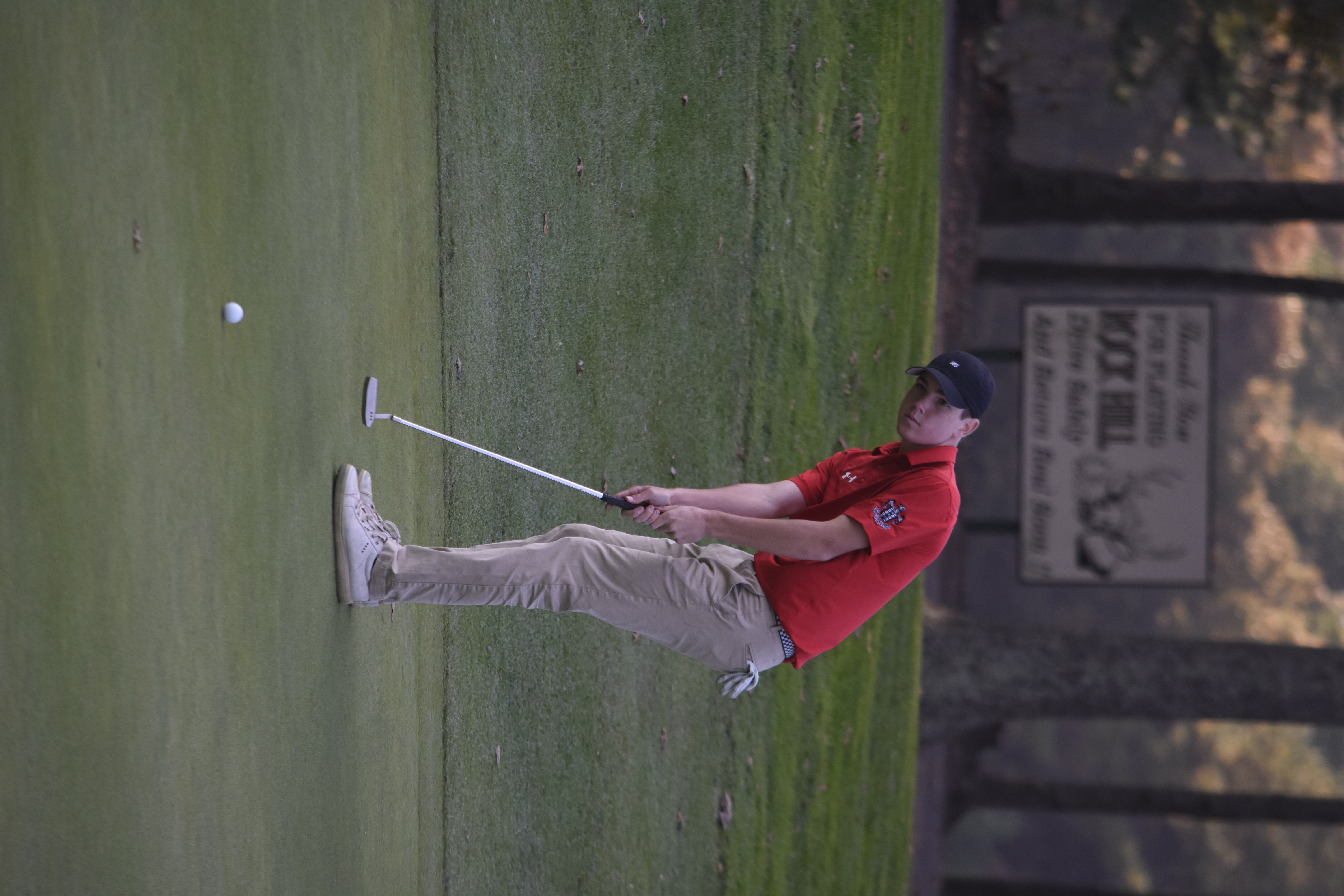 Henry Brooks was the first Pierson golfer ever to reach the state tournament.