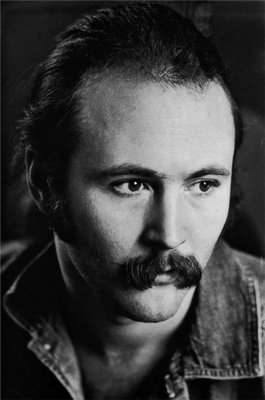 Graham Nash's photo of David Crosby taken in Sag Harbor in 1969.