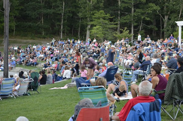 Southampton Town held the final concert of the season at Good Ground Park in Hampton Bays on August 29. ANISAH ABDULLAH
