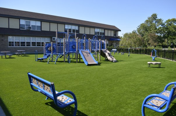 Our Lady of the Hamptons School is having an opening ceremony for the new playground area on September 12 at 1 p.m. ANISAH ABDULLAH