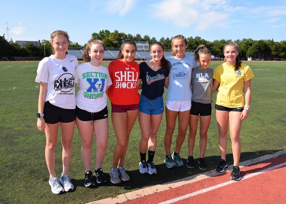 The Lady Bonackers cross country team this season will include Ava Engstrom, Mimi Fowkes, Summer Klarman, Emma Hren, Bella Tarbet, Dylan Cashin and Ryleigh O'Donnell.
