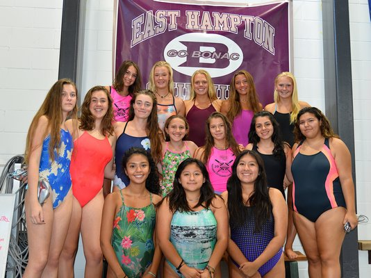 The Lady Bonackers look to continue their dominance in the pool this season.