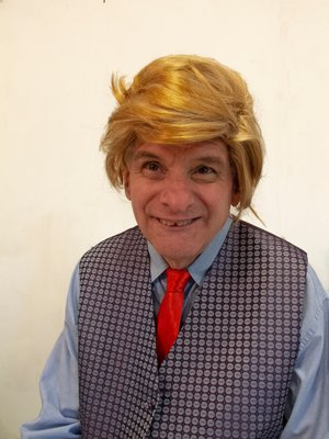 Bill Gillis as Mr. Lump in East End Special Players' production of