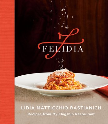 The cover of Lidia Bastianich's new cookbook,