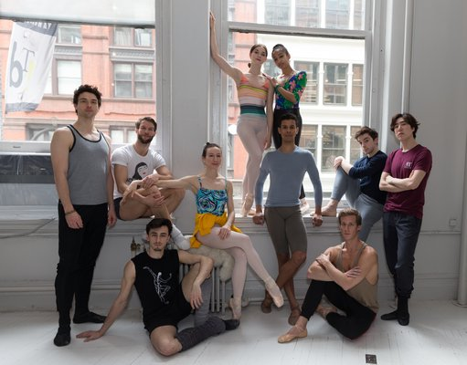 Hamptons Dance Project dancers, from left: Thomas Forster, James Whiteside, Carlos Gonzales, Isabella Boylston, Cassandra Trenary, Jose Sebastian, Erica Lall, Tyler Maloney, Blain Hoven, Sung Woo Han.