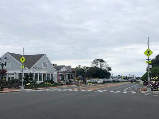 Town officials say that the lighted crosswalk signs that were installed in Montauk as part of a state-funded program to increase pedestrian safety are too tall and flash for too long or when pedestrians are not in crosswalks.