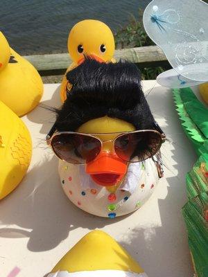 Elvis duck.