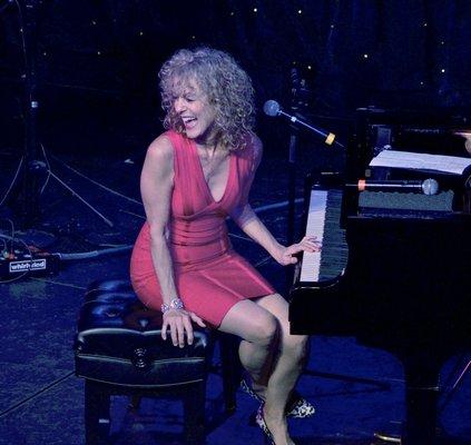 Stride pianist Judy Carmichael.