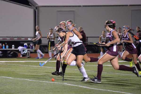 C.C. Wetter returns for another season on the Southampton field hockey team.
