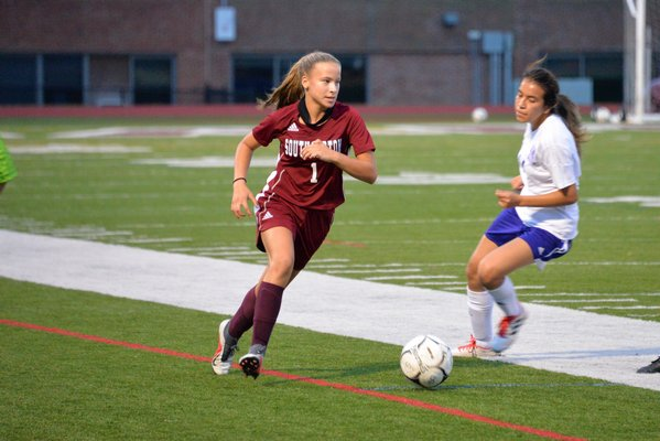 Gabriella Arnold is one of many returning players for the Lady Mariners this season.