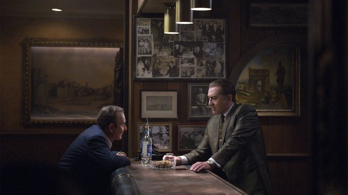 Joe Pesci and Robert De Niro in